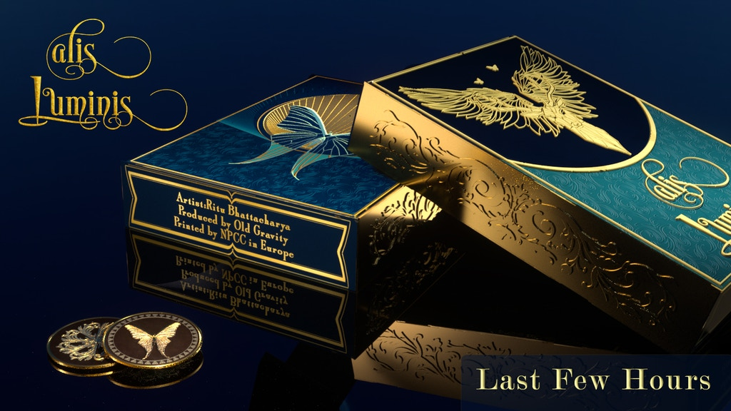 Alis Luminis - The Winged Playing Card Deck project video thumbnail