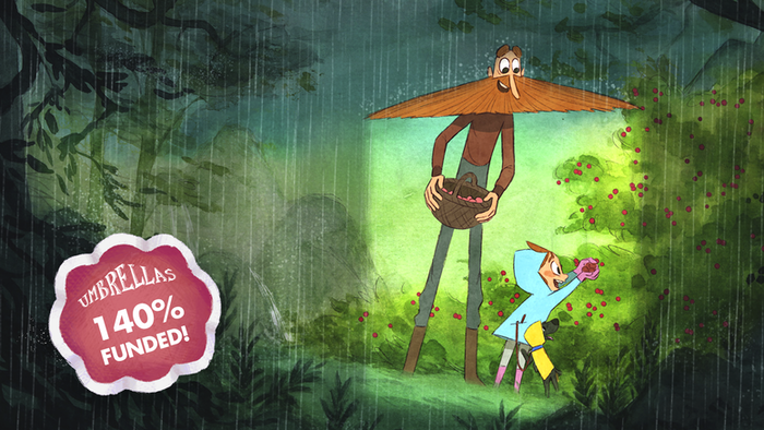 In a faraway land, where it never stops raining, Kyna, a little girl will have to face her greatest fear: the Rain