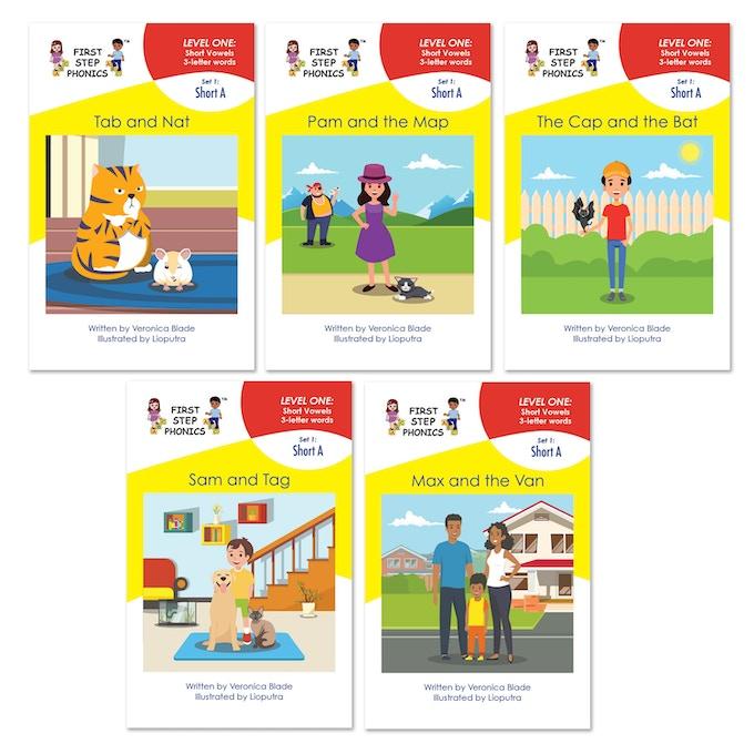 Beginning reader 3-letter word books!