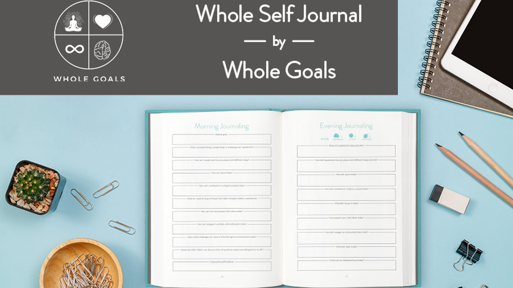 Whole Goals Journal: Reach The Goals of Your Soul project video thumbnail