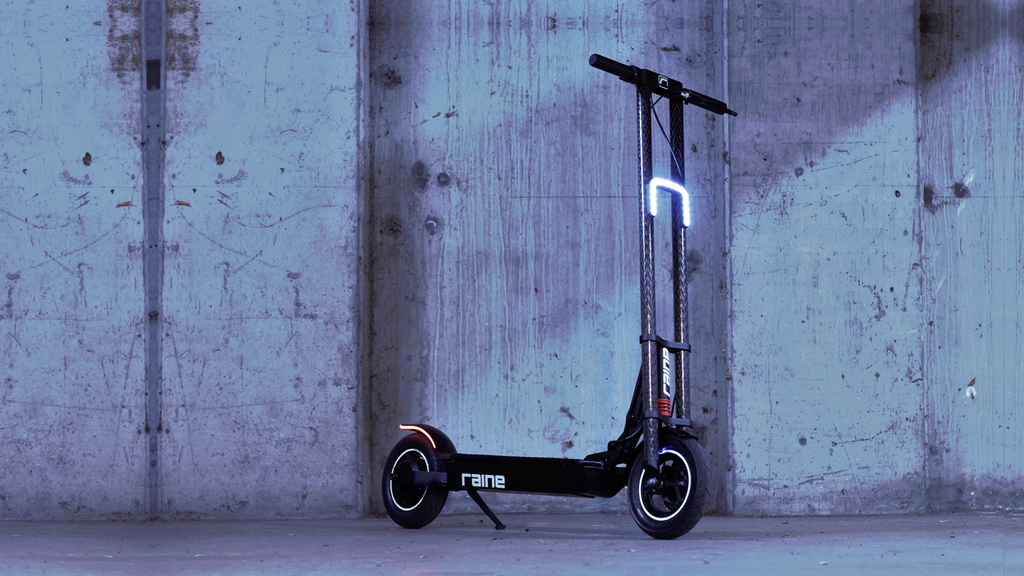 The Raine One Electric Scooter project video thumbnail