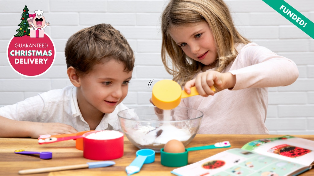 KIDDOZ: interactive measuring cups & cookbook project video thumbnail