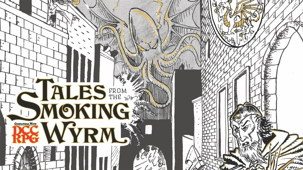 Project image for Tales from the Smoking Wyrm Issue #1