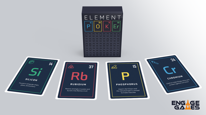 Learn About 52 Key Chemical Elements While Playing Poker!