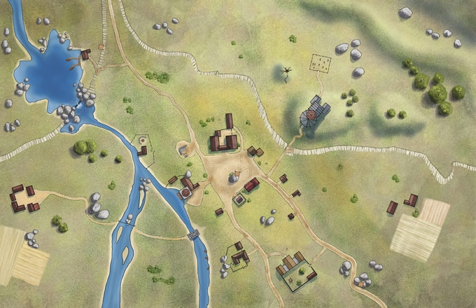 A Fantasy Town: A System-Neutral Setting for Fantasy Games