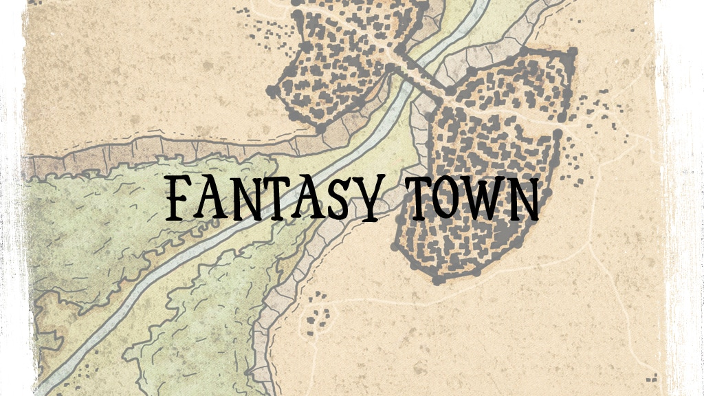 Project image for A Fantasy Town: A System-Neutral Setting for Fantasy Games