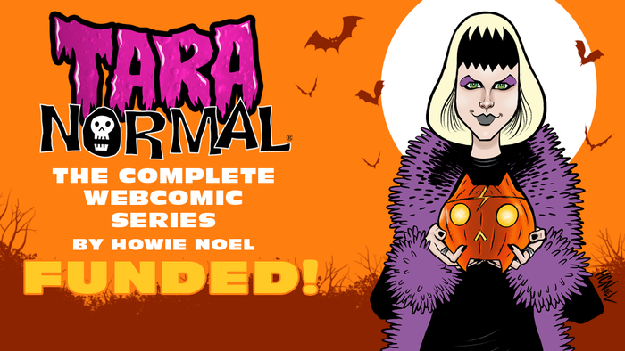 An exclusive edition collecting the complete Tara Normal webcomic.