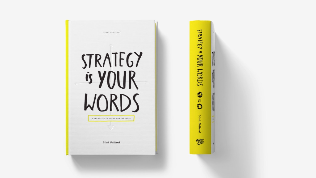 Strategy Is Your Words - The Deskbook by Mark Pollard project video thumbnail