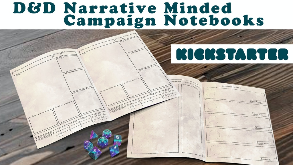A Better DnD Campaign Notebook project video thumbnail
