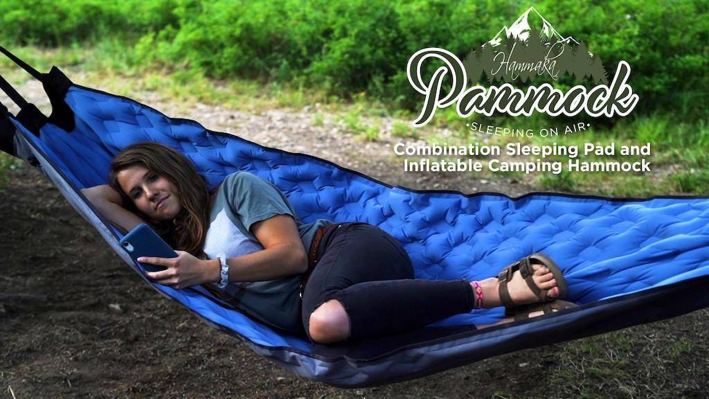 HAMMAKA PAMMOCK - Sleeping Pad That Converts Into A Hammock