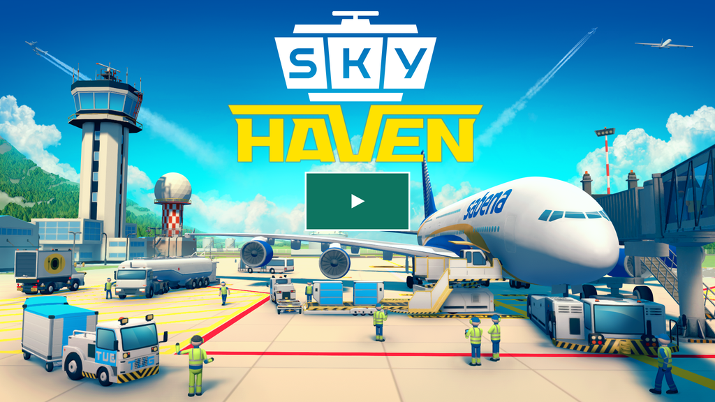 Sky Haven: Airport Tycoon Simulator for PC project video thumbnail