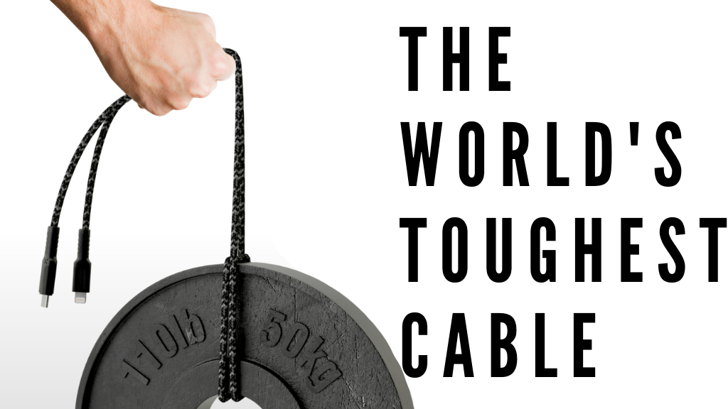 Bullet Cable | The world's first BULLETPROOF cable project video thumbnail
