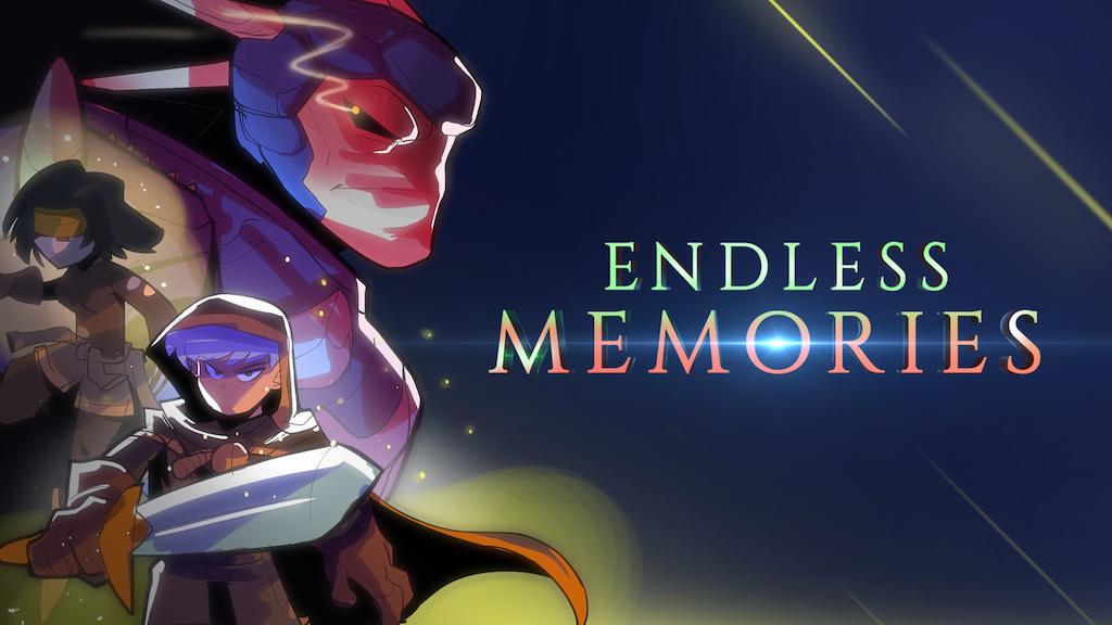 Endless Memories | 2D action-adventure project video thumbnail