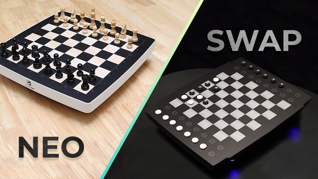 Square Off NEO & SWAP | Board Games Powered by Robotics & AI project video thumbnail