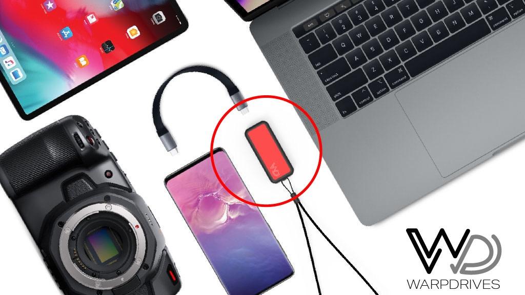 WarpDrive: High-Speed Portable SSD 1TB / 2TB project video thumbnail