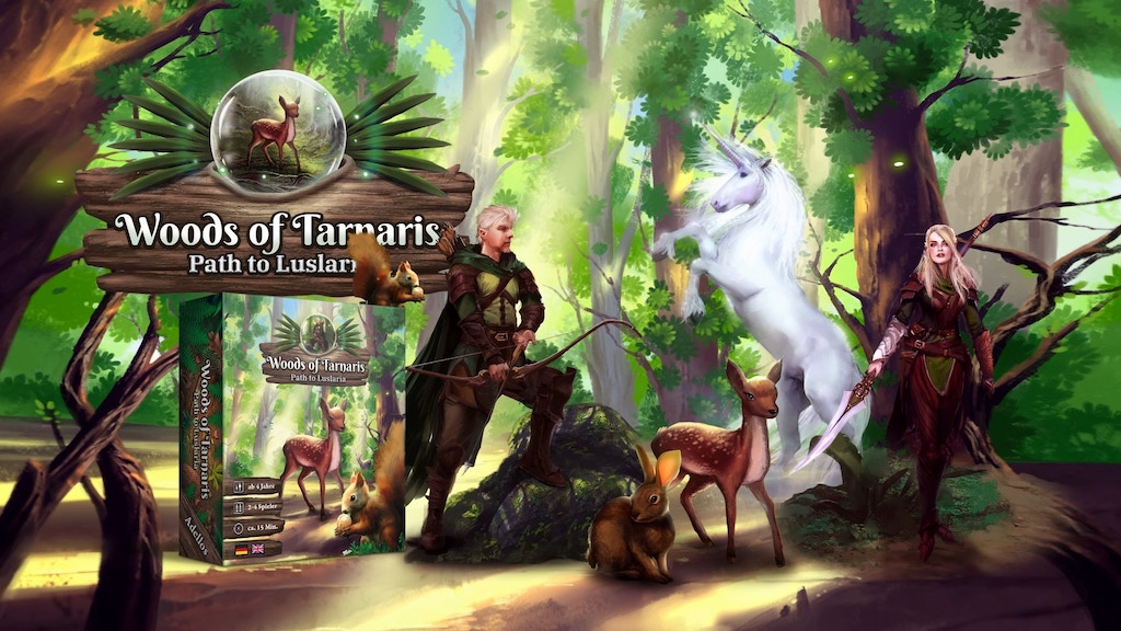 Woods of Tarnaris - Path to Luslaria project video thumbnail