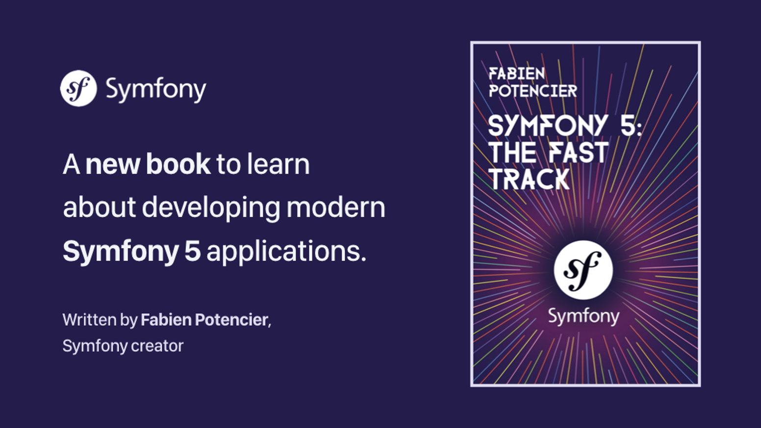 A step by step book about writing applications with Symfony.Learn more at https://symfony.com/book