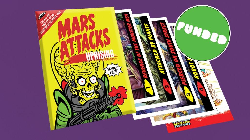 Mars Attacks: Uprising - Wax Pack Sampler project video thumbnail