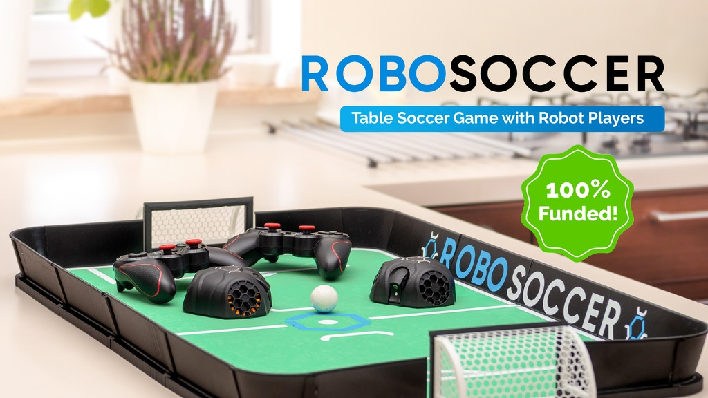 RoboSoccer: Table Soccer Game with Robot Players project video thumbnail