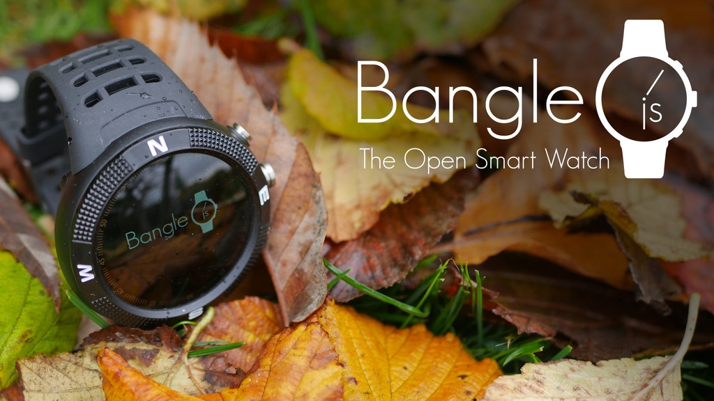 Bangle.js: the hackable Smart Watch project video thumbnail