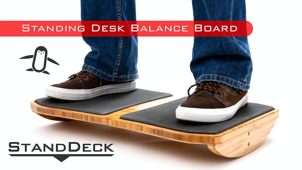 StandDeck - Balance board for standing desks