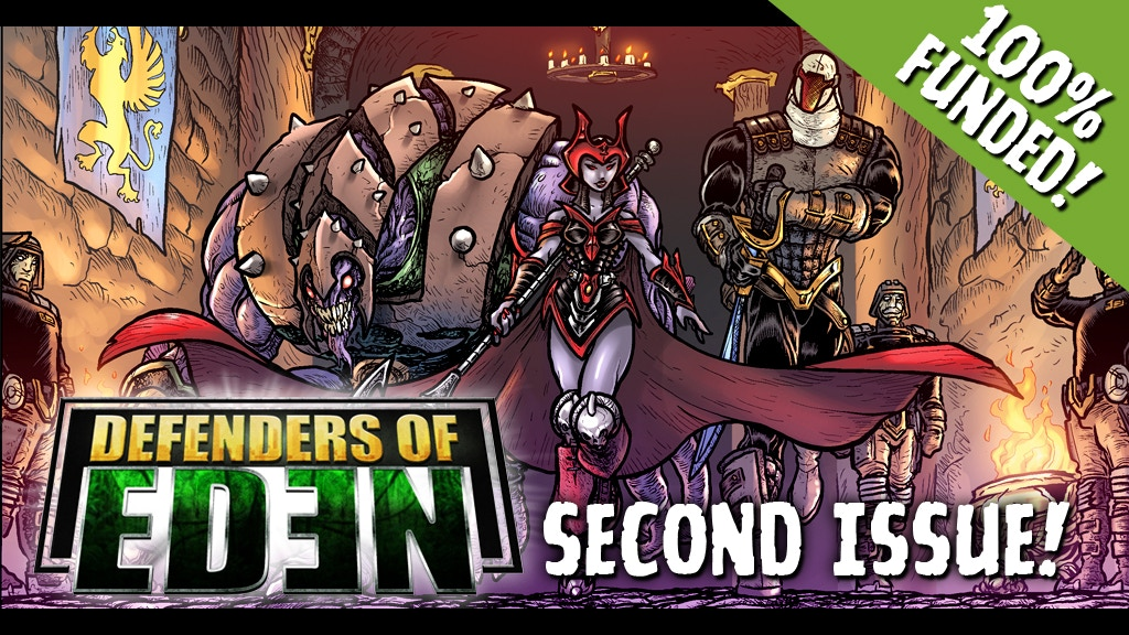 Project image for Defenders of Eden #2