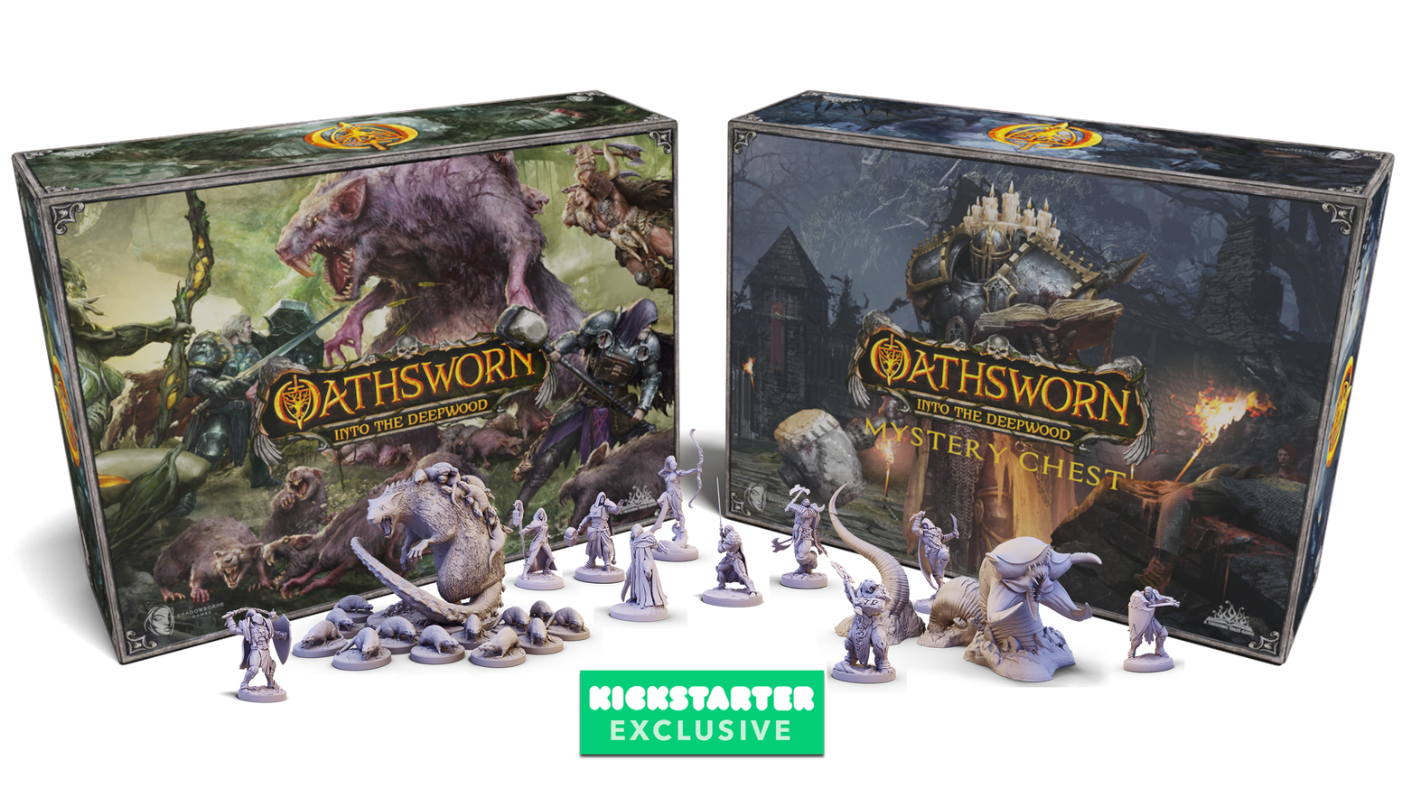 A Grand 1-4 Player Dark Fantasy Board Game. Epic Story, Brand New Mechanics and Giant Monsters.