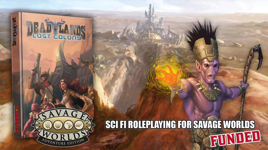 Deadlands Lost Colony project video thumbnail