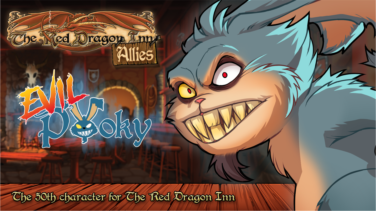 Pooky's evil doppelganger invades the tavern!