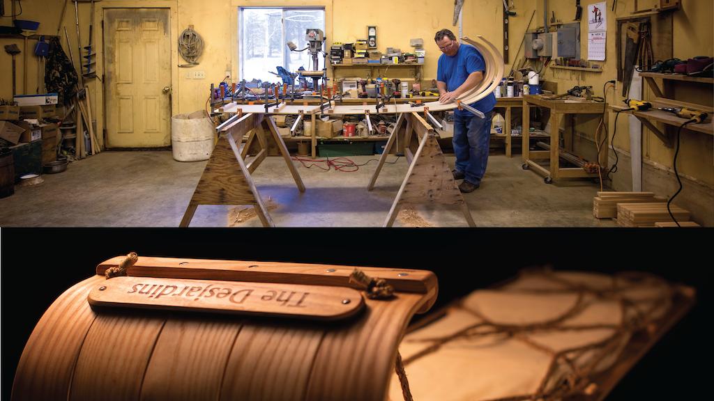 Handmade 100% Authentic Classic Toboggan project video thumbnail