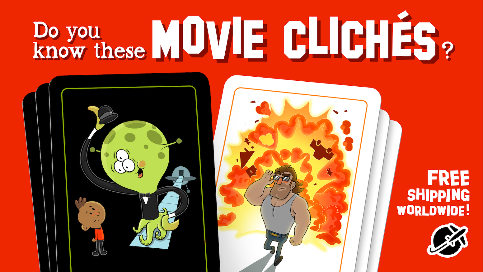 A card game made by (bad) movies.