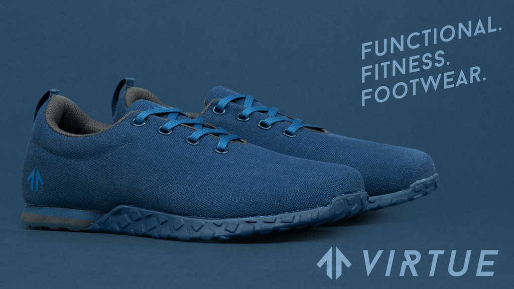 THE 01 from VIRTUE Athletic / Functional. Fitness. Footwear. project video thumbnail