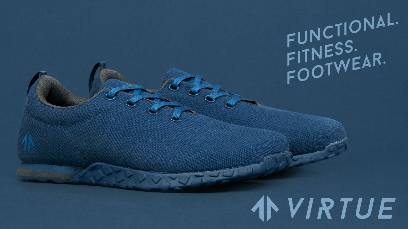 Functional fitness footwear designed with everything that's necessary...and nothing that isn't. DO MORE WITH LESS.