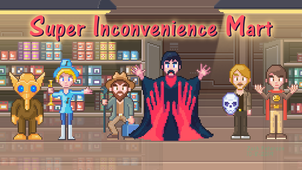 Super Inconvenience Mart project video thumbnail