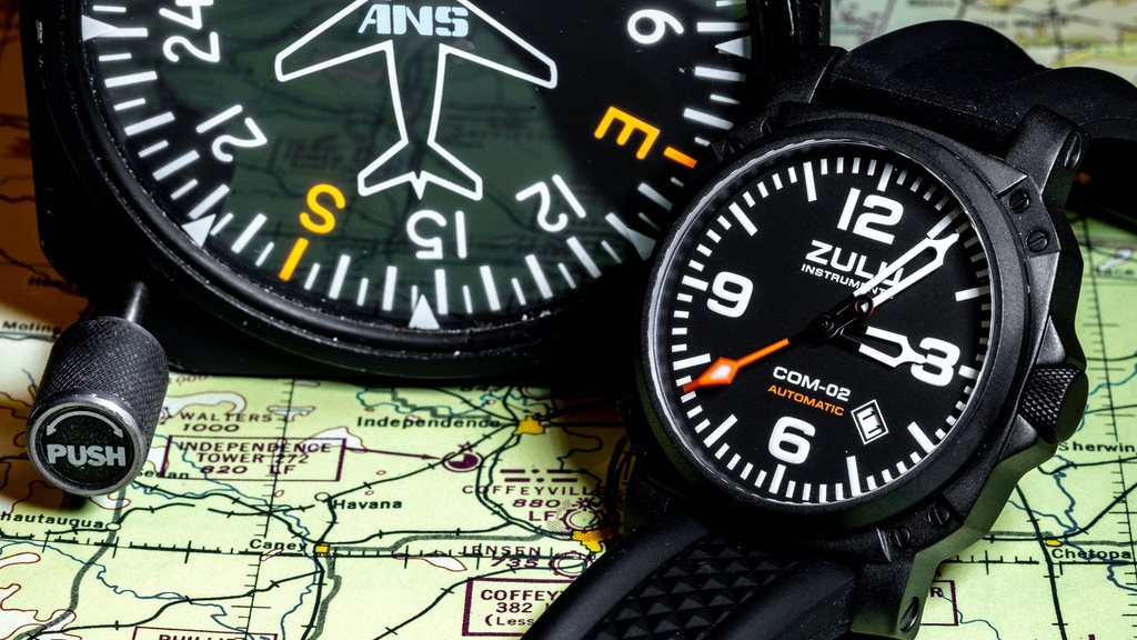 Exquisitely Crafted Aviation Inspired Pilot Watches project video thumbnail