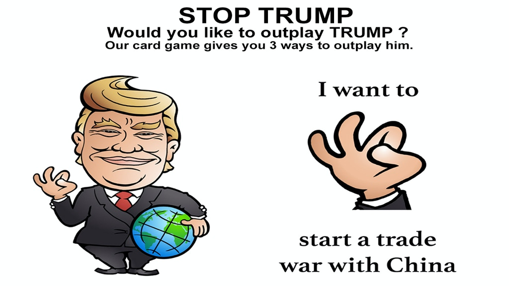 Stop Trump A Fun Card Game With Political Satire By Danish Board