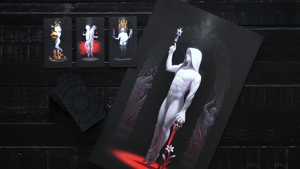 Project image for TrueBlack: Posters + Fantasy Art Prints from the Tarot Deck