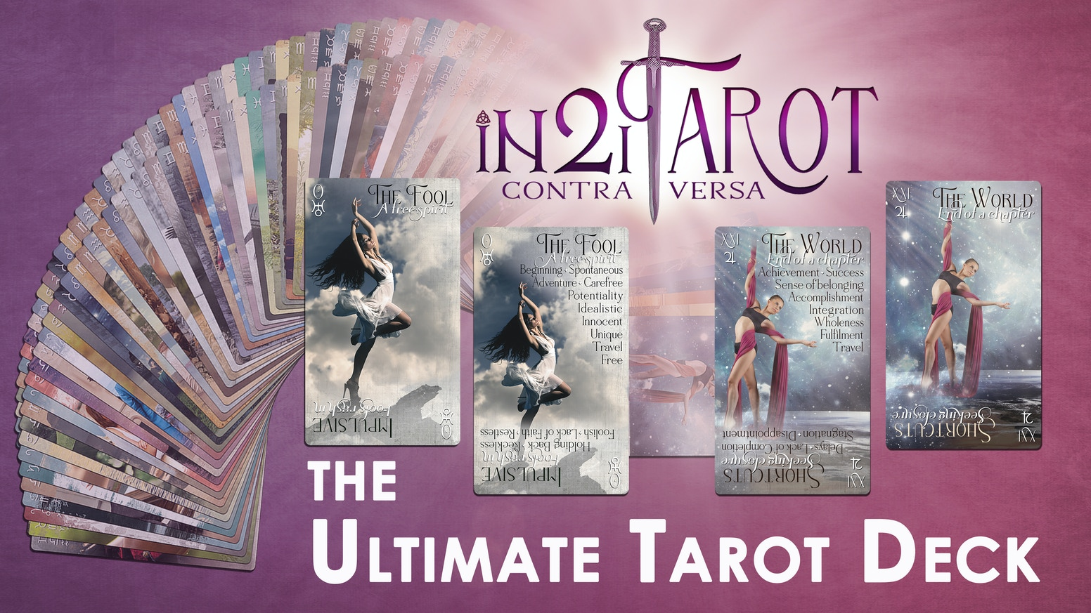 The versatile, 4-in-1 tarot deck w/ beautiful imagery & powerful keywords, delivering clear & insightful messages for readers.