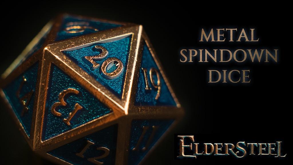 Project image for Metal Spindown Dice by Eldersteel