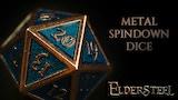 Metal Spindown Dice by Eldersteel thumbnail