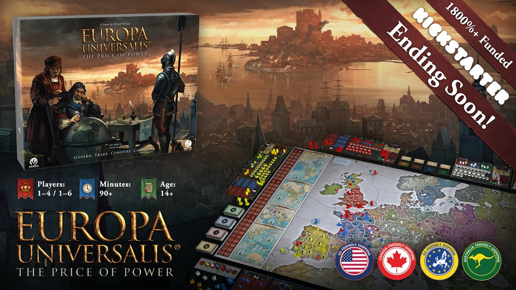 Europa Universalis: The Price of Power project video thumbnail