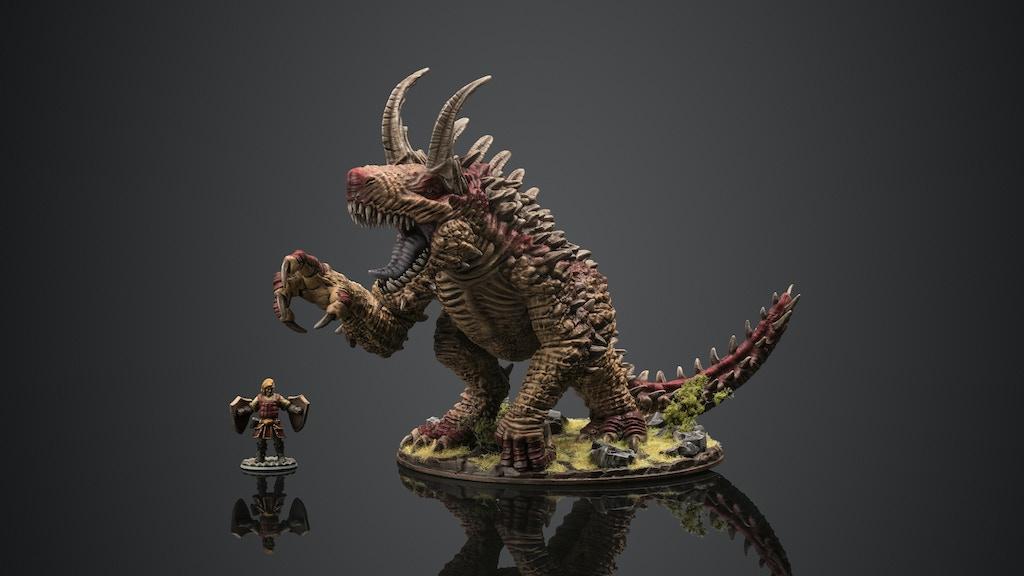 Project image for Gargantuan Tarrasque Monster Miniature by Critit.co.uk