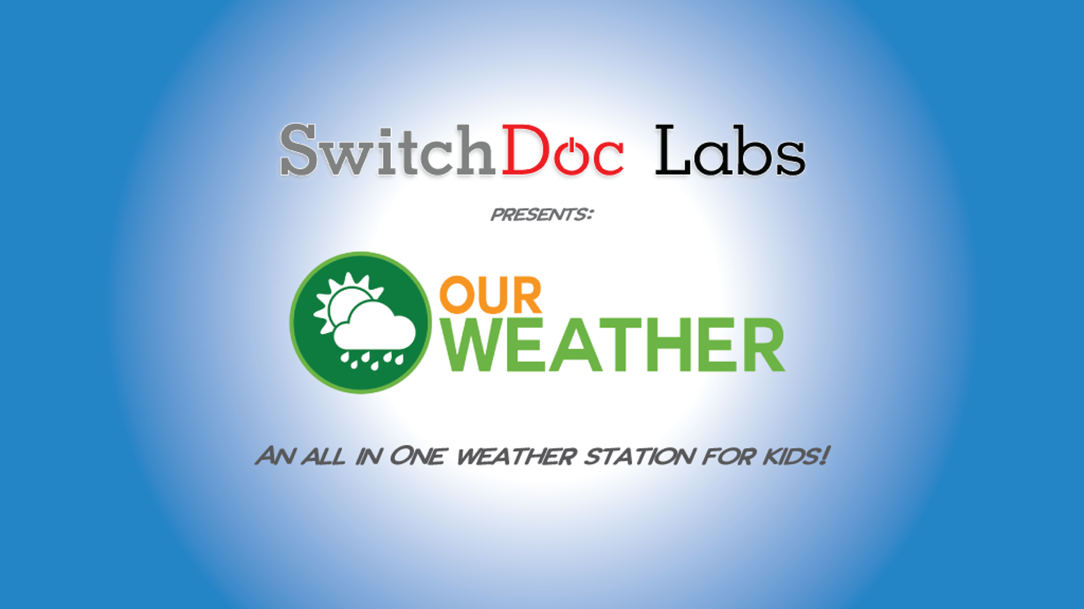OurWeather is an advanced and complete DIY Weather Station Kit with No Soldering necessary!  For Makers and Learners. SolarMAX support too!