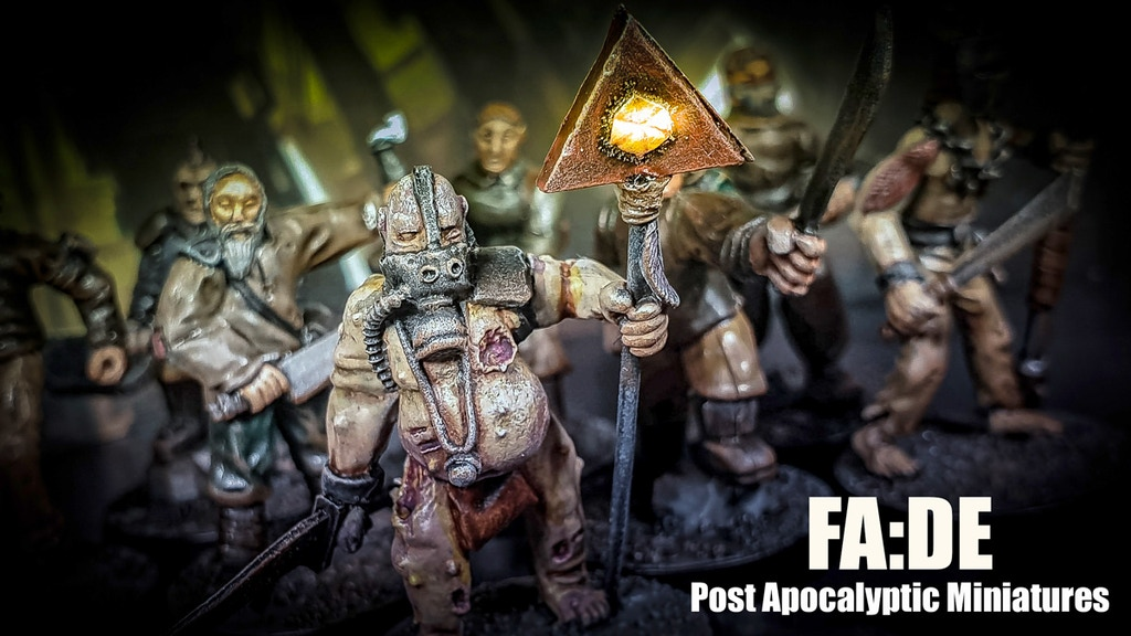 Project image for FA:DE 28mm Post Apocalyptic Metal Miniatures (Canceled)