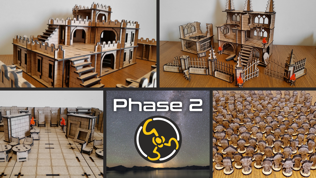 Project image for Modular Castle and Terrain - Galaxy Gaming Gear (Canceled)