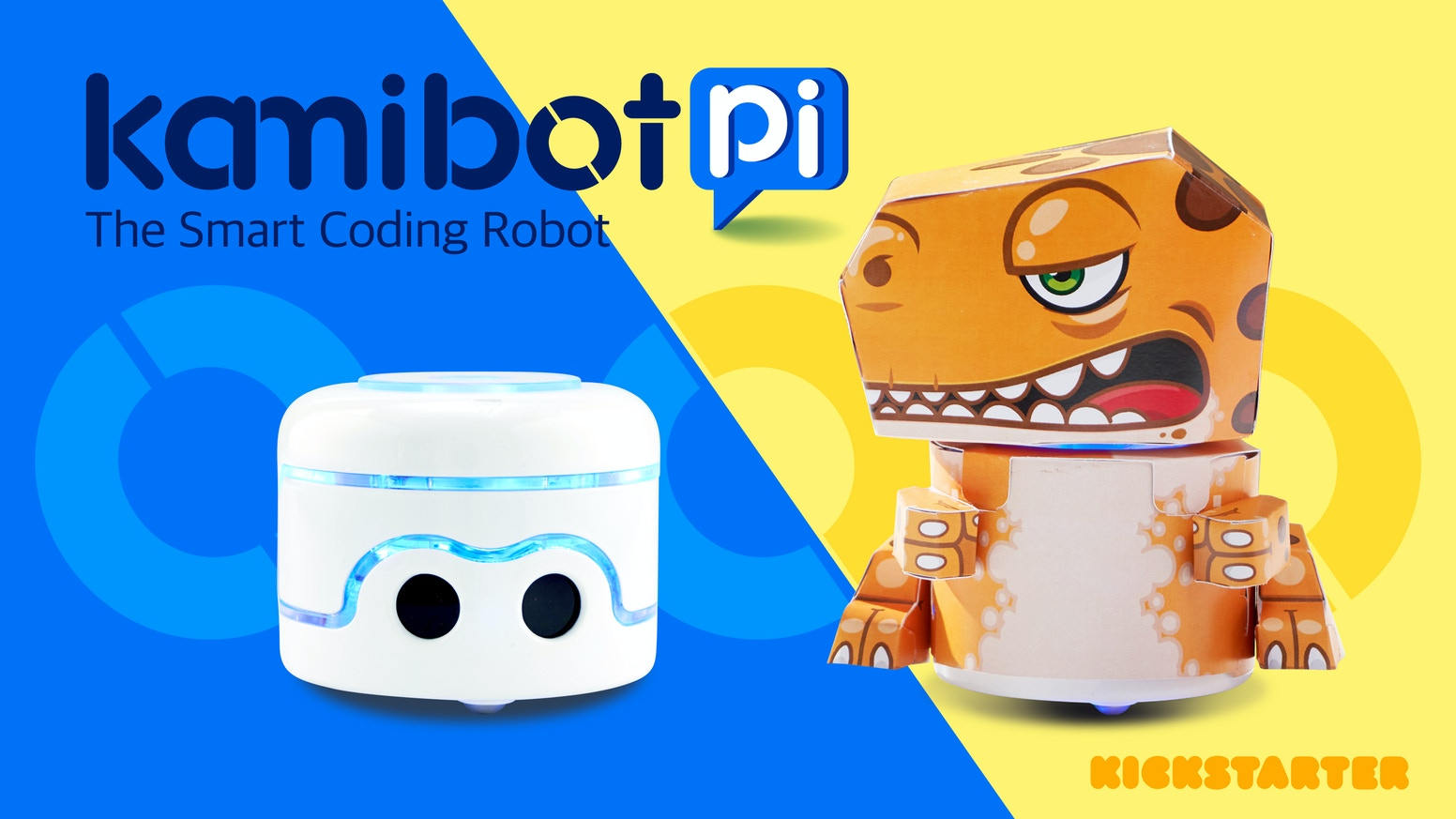 Competitive and creative learning by coding your Kamibot Pi to escape a maze, race, play soccer, draw, multi-bot sync movement & more!