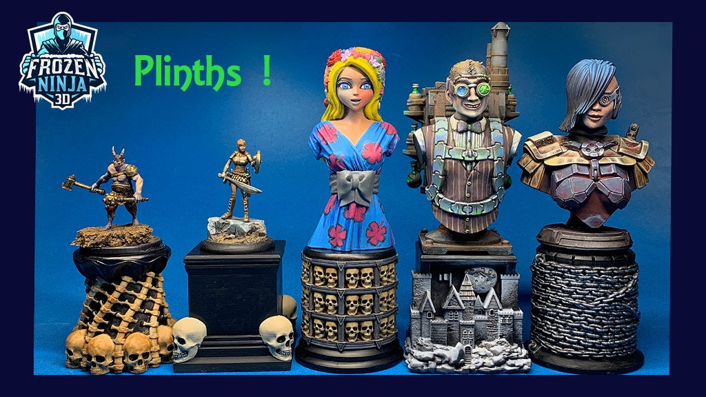 Project image for Plinths & Display Stands for Figures, Miniatures, & Busts!