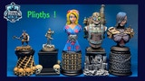 Plinths & Display Stands for Figures, Miniatures, & Busts! thumbnail