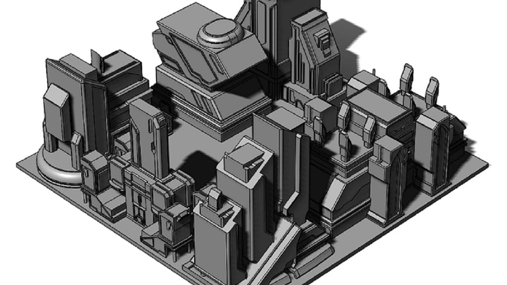 Project image for Vega City Hab Blocks