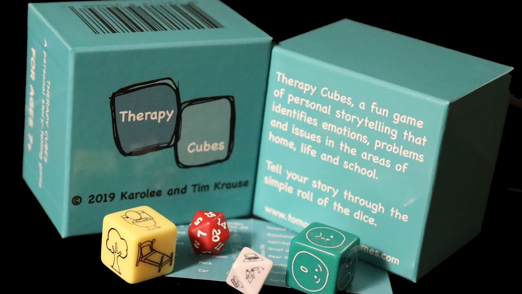 Therapy Cubes: An Award-Winning Story-Telling Dice Game project video thumbnail